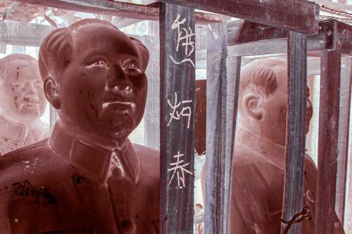 Mao Statue Negative 02